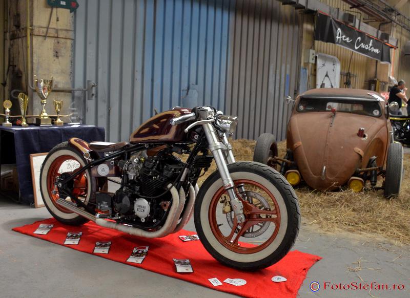 motocicleta masina custom bucuresti