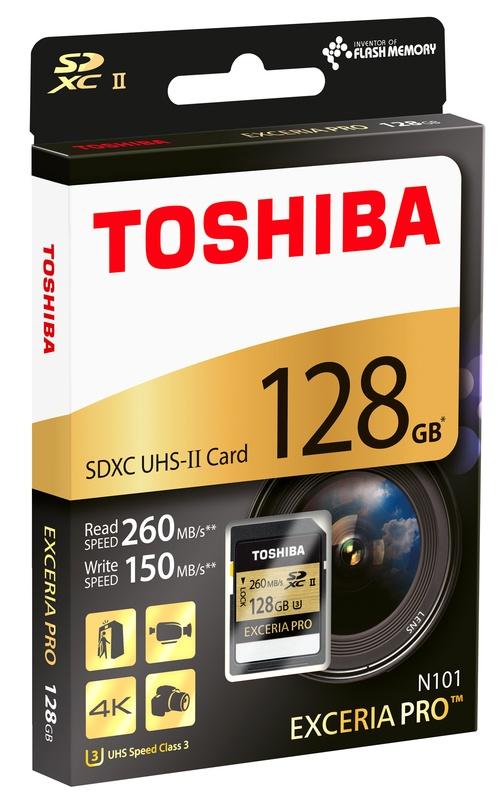 Toshiba Exceria Pro SD