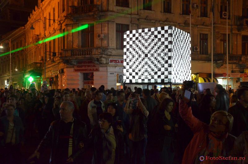 Cubic Lens festivalul luminii bucuresti 2015