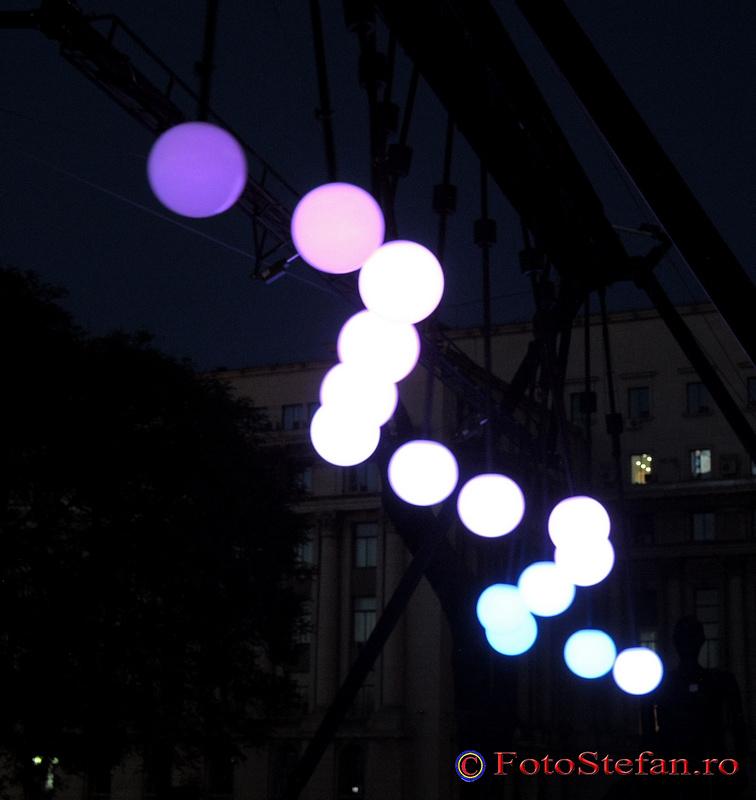 lumini miscatoare bucuresti seara