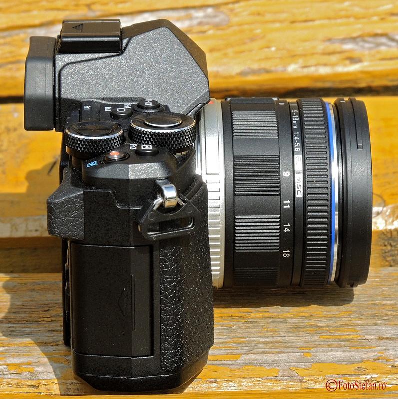 obiectiv Olympus M.Zuiko Digital 9-18mm f4-5.6 ED