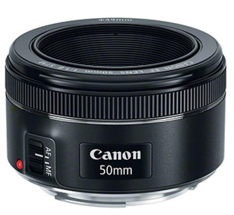 obiectivul Canon EF 50mm f/1.8 STM