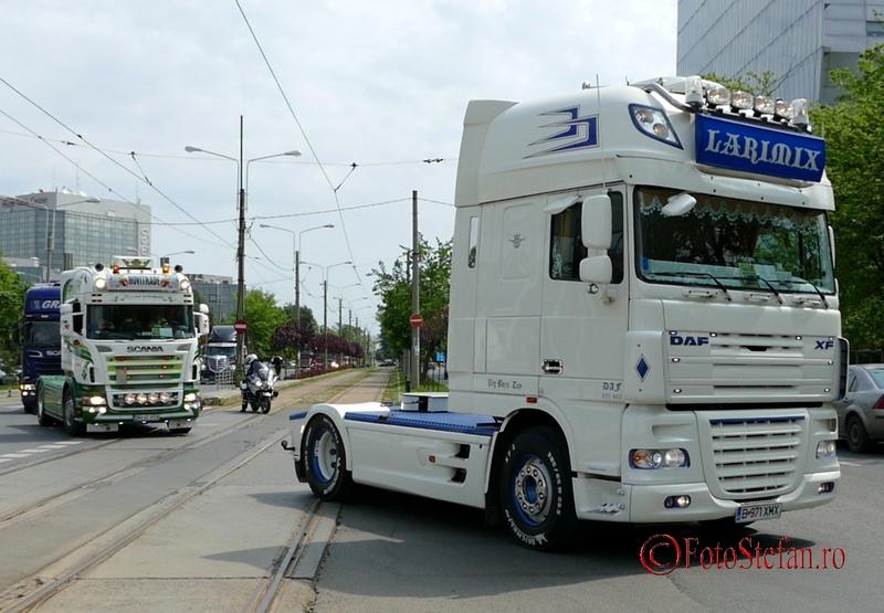 camion daf xf alb