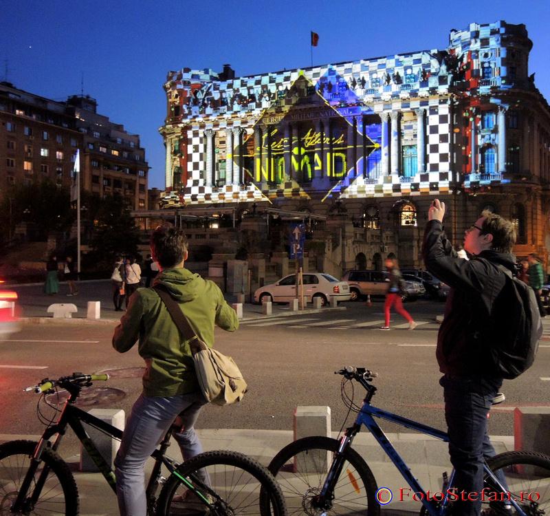 Les Ateliers Nomad festivalul luminii bucuresti