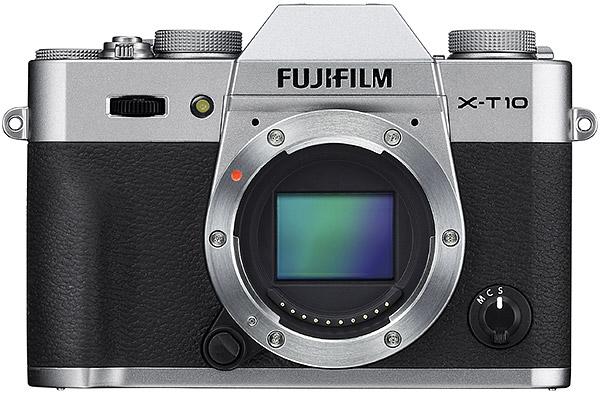 senzor mirrorless fuji x-t10