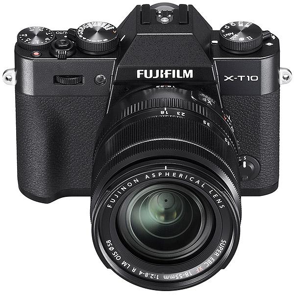 Fujifilm X-T10 obiectivul 18-55mm f/2.8-4  R LM OIS