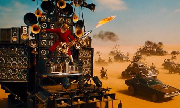 Mad Max Fury Road sf actiune masini