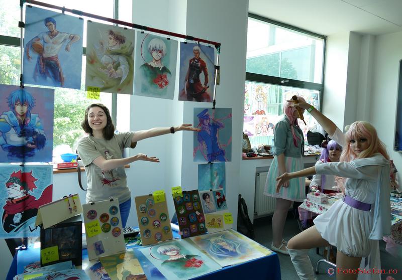 aleea artistilor otaku festival