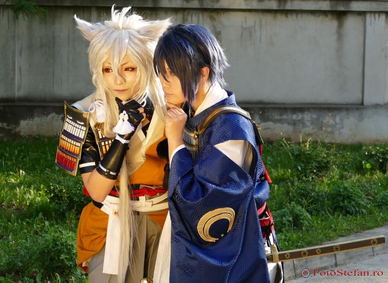 Yuegene si Reika otaku festival bucharest