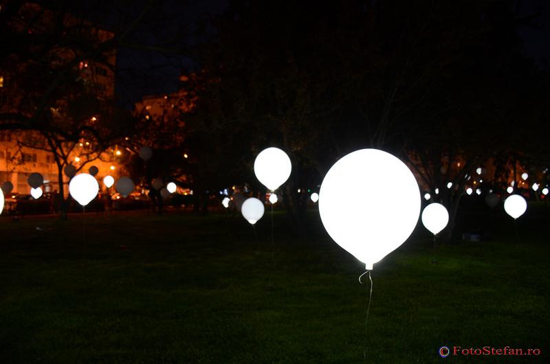 baloane heliu led parc cretulescu bucuresti