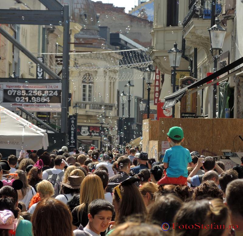centrul vechi istoric bucuresti bubble parade