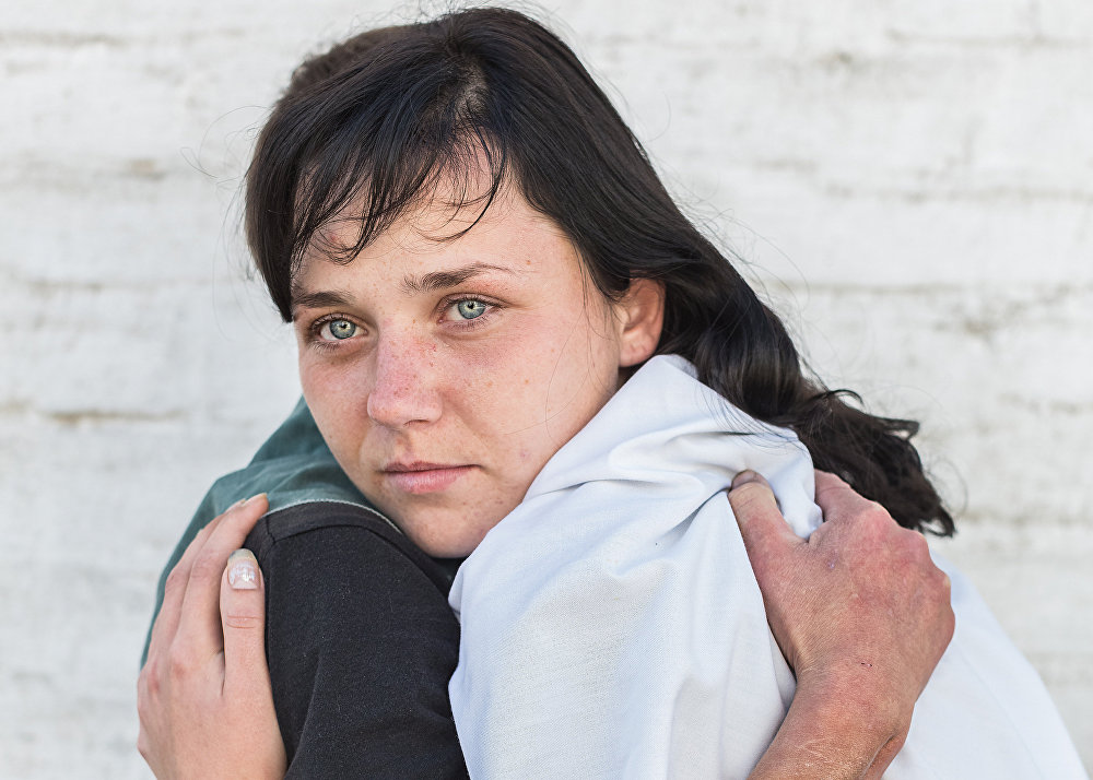 "Yelena Anosova, din Irkutsk, pentru seria ""Dissociation"""