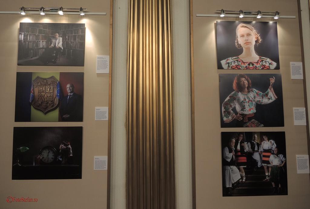 """expozitia """"Portrete din Londra""""  fotograf Ion Paciu vernisaj ICR Bucuresti"""