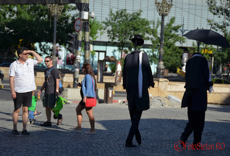 invisibile men teatru de strada