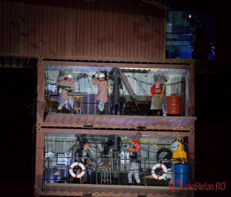 Waterlitz teatru de strada la B-FIT in the street bucuresti 2015