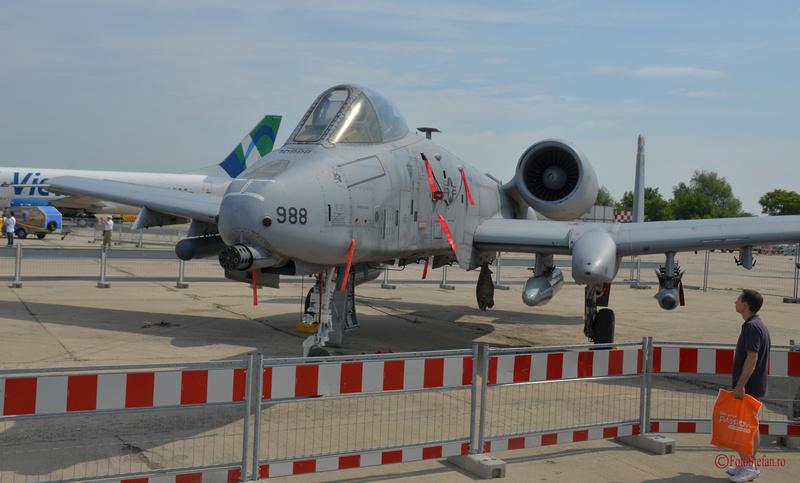 A-10 Thunderbolt II Bucharest International Air Show BIAS2015