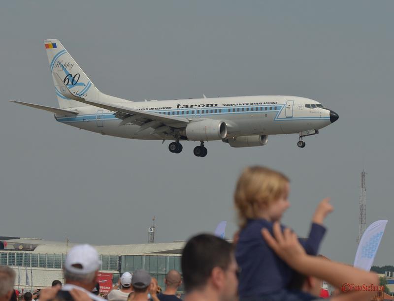 Boeing 737 tarom #bias2015 bias