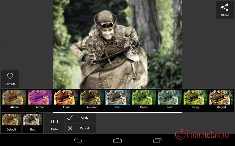 Effect Pixlr app