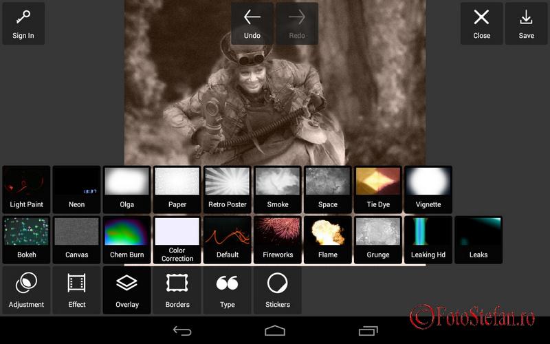 Overlay Pixlr