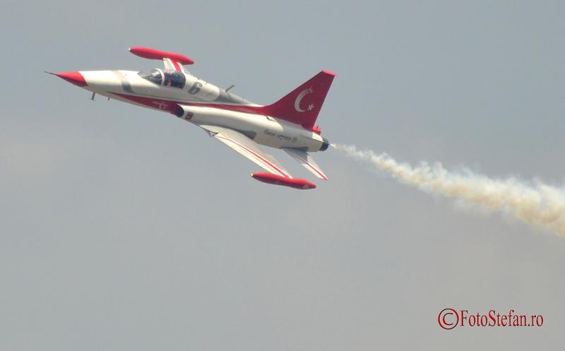 Canadair NF-5A Turkish Stars BIAS2015 Bucharest International Air Show