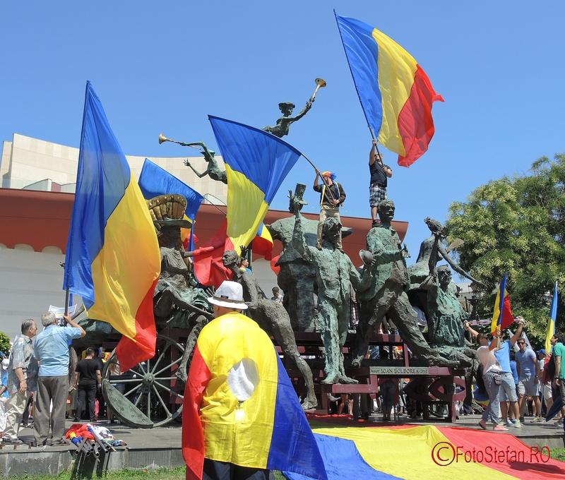 Caragialiana steagul Romaniei TNB