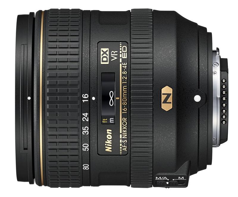 Nikon AF-S DX 16-80mm f/2.8-4E ED VR