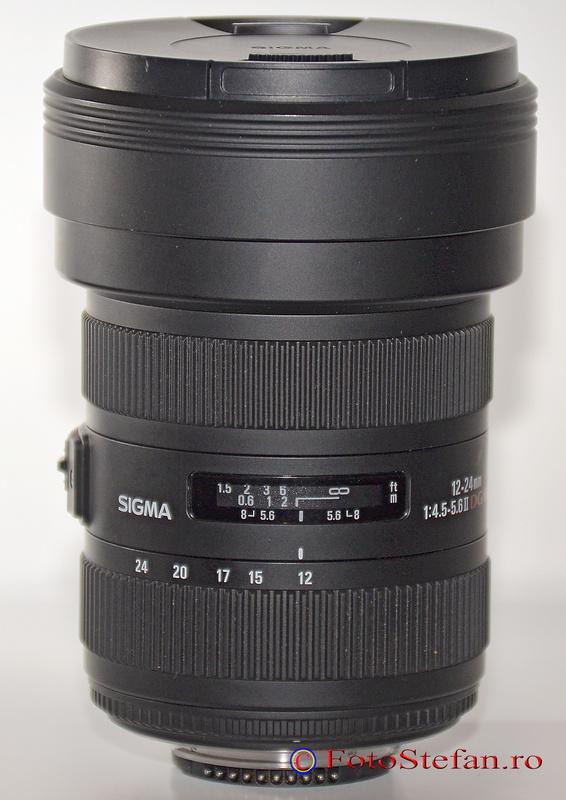 Sigma 12-24mm f4.5-5.6 DG HSM II obiectiv nikon