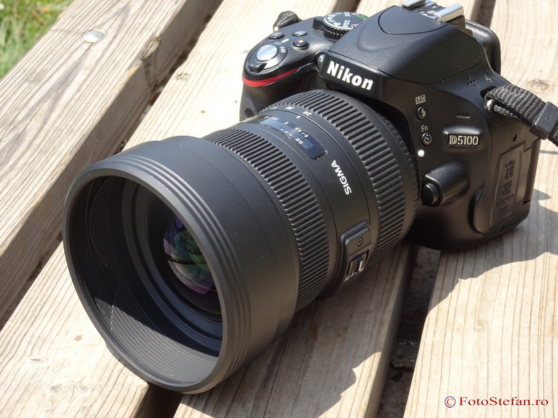 Sigma 12-24mm f4.5-5.6 DG HSM II pentru Nikon