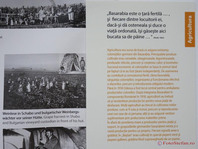 """""""Asezarile germane din Basarabia"""" expozitie fotografie Muzeul National al Taranului Roman"""