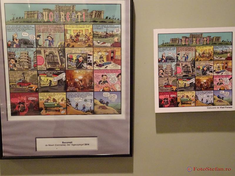 Poveşti din Bucureşti în benzi desenate