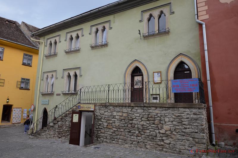 casa venetiana piata muzeului sighisoara