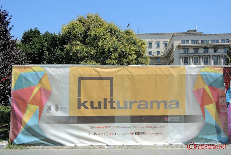 KULTURAMA Festival de arta contemporana in Piata Revolutiei Bucuresti