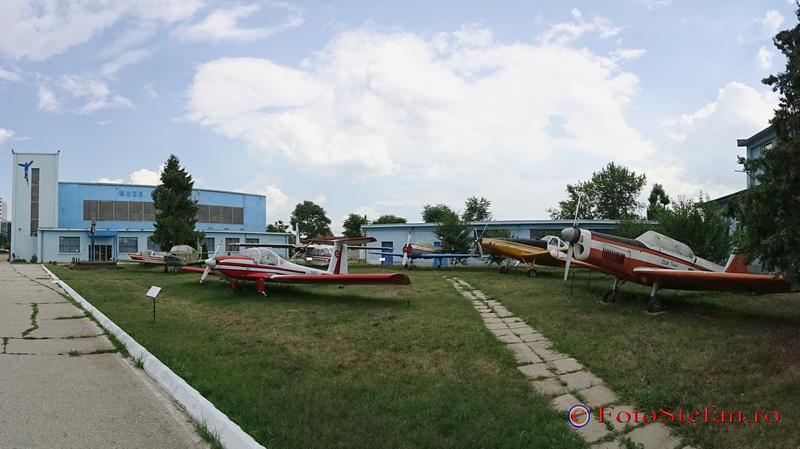 poza panoramica muzeul aviatiei