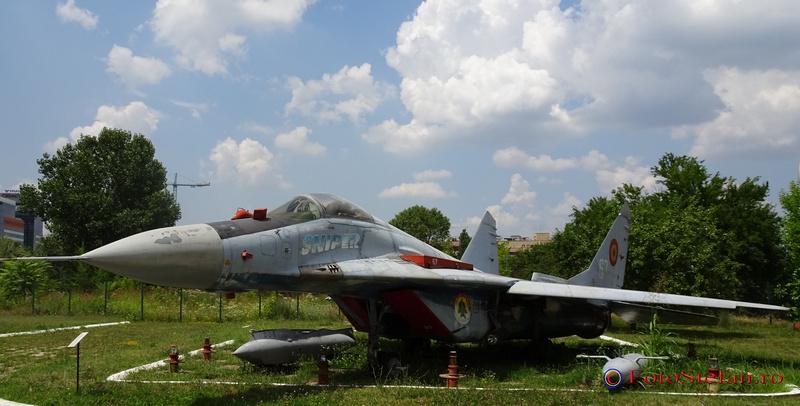 mig 29 sniper poze muzeul aviatiei bucuresti