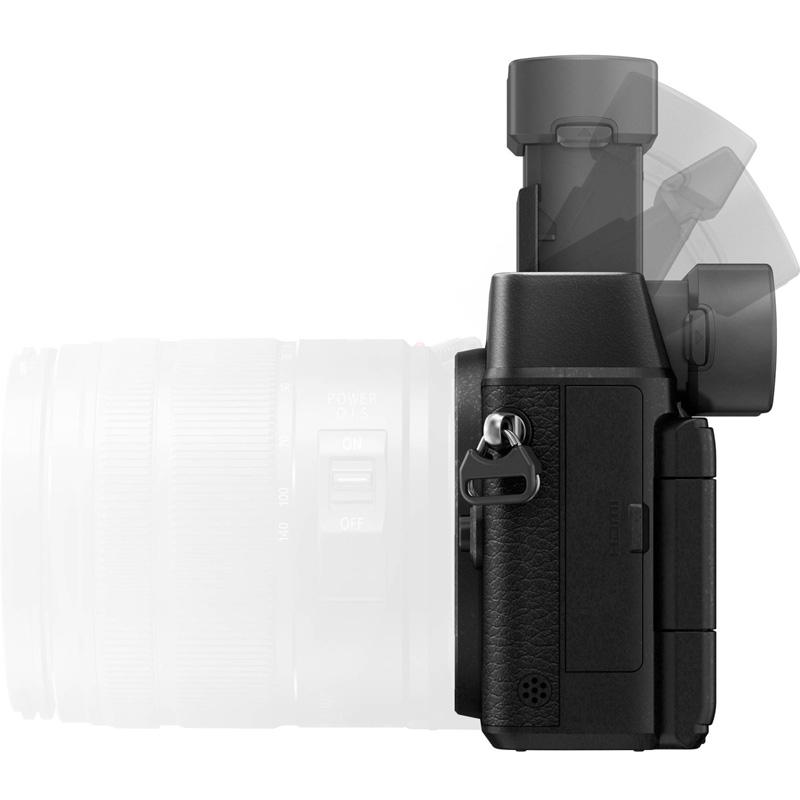 vizor mobil Panasonic GX8