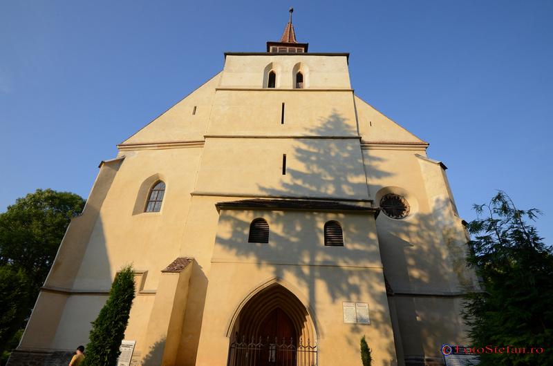 sighisoara biserica din deal