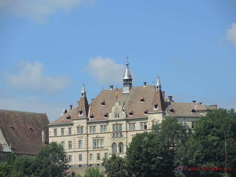 palatul comitatului sighisoara poza