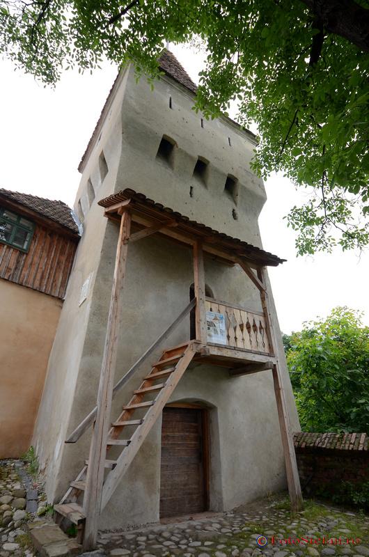 turnul cojocarilor sighisoara vara
