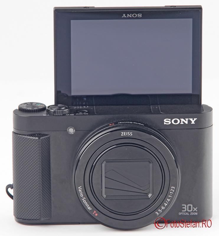 sony hx90 lcd selfie