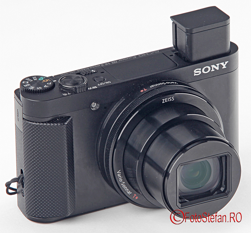 Sony HX90 grip vizor electronic