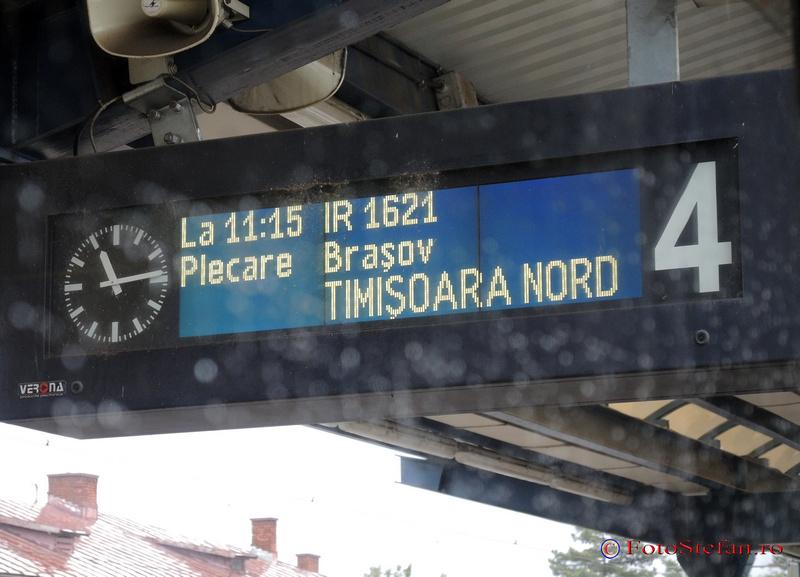tren sighisoara via brasov