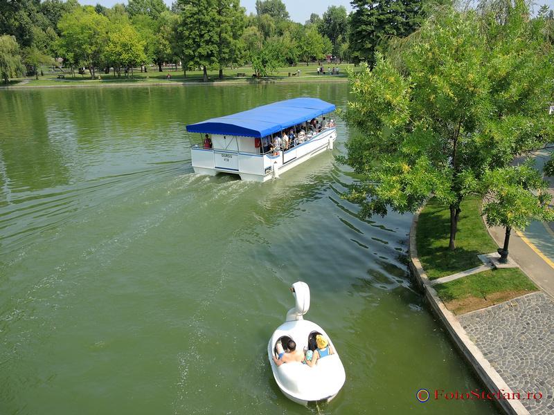 navigare lac titan bucuresti