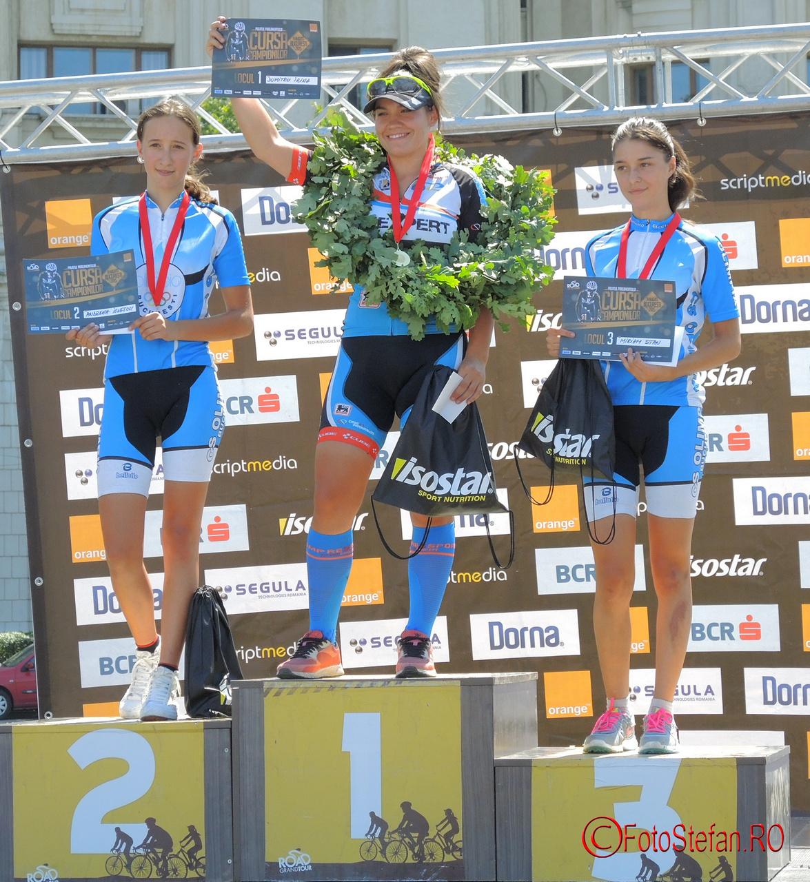 Andreea Ionescu, Dumitru Irina, Miriam Stan ciclism poze