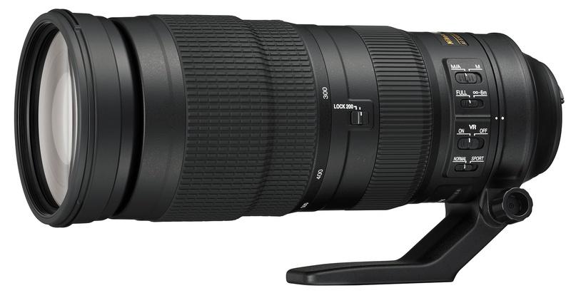 Nikon NIKKOR AF-S 200-500mm f/5.6E ED VR