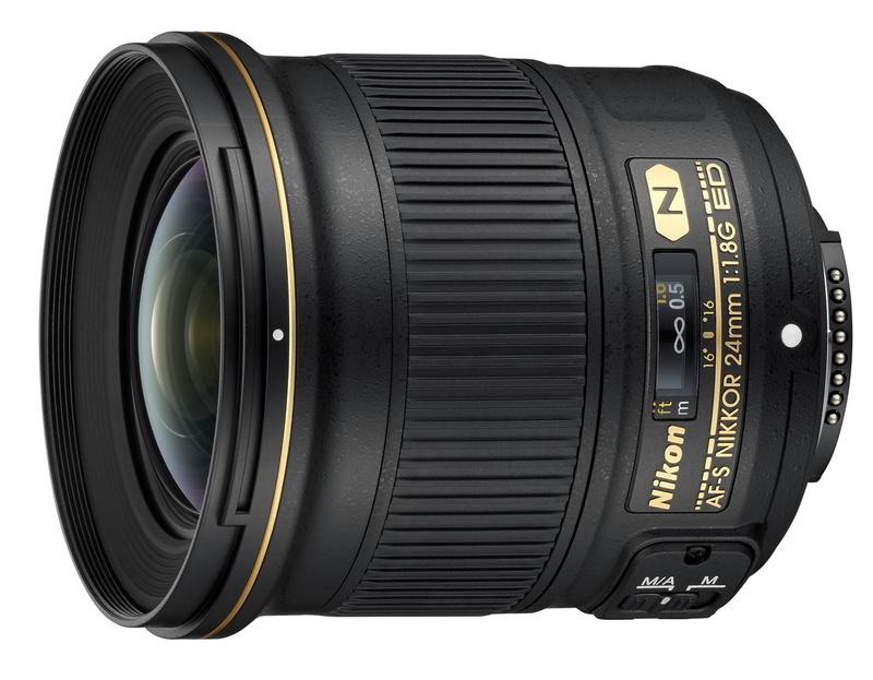 Nikon NIKKOR AF-S 24mm f/1.8G ED