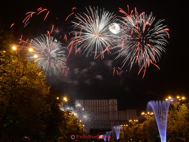 bucuresti artificii poze