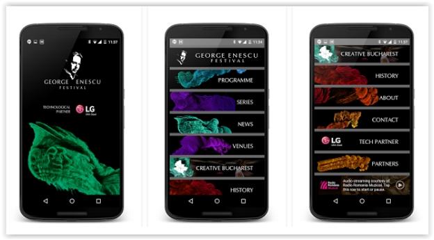 festivalul enescu aplicatie gratuita smartphone