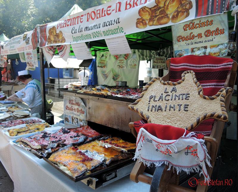 Festivalul Placintelor in parcul National din Bucuresti