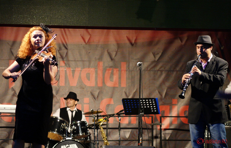 foto Bucharest KLEZMER BAND la festivalul Bucurestii lui Caragiale