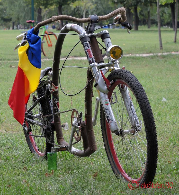 steagul romaniei bicicleta